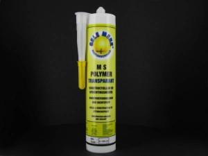 Gele Merk MS-Polymer, kleur transparant, koker, 290 ml