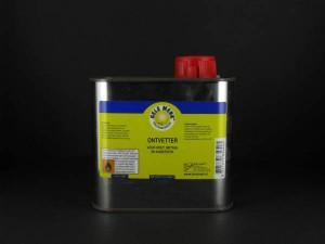 Gele Merk, Ontvetter voor hout, metaal en kunststof, blik, 0,5 liter