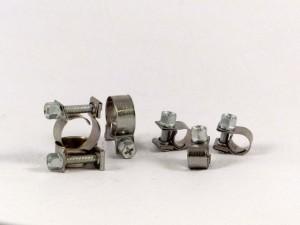 Mini-slangklem, RVS, zakje 50 st. 6-8 mm