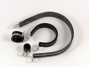Leidingklem, rubberclips, 3 mm, doos van 100