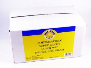 Gele Merk poetskatoen superzacht, doos van 1 kg