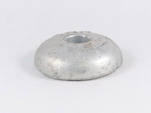 Anode, diskus, aluminium, 04AB, ø100 mm
