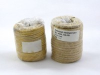 Vetkoord van katoen, verpakking  1,1 kg (23 m), 6 mm