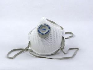 Moltex fijnstofmasker P2405, FFP2S met ventiel, doos 20 stuks
