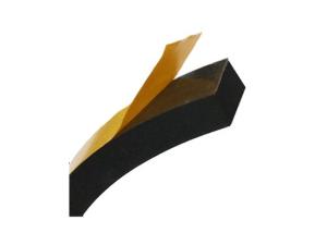 Celrubber, EPDM, zelfklevend, zwart, rol 200 m, 6 x 6mm