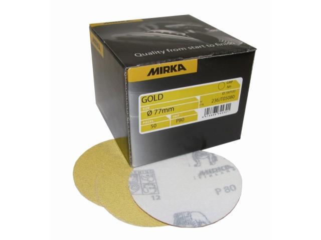 Mirka, GOLD sch 77mm, zg kl, P320, doos 50 st