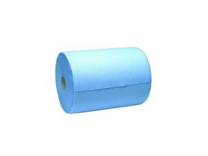 Gele Merk Papierrol, blauw, 3-lgs, 37cm/ 400 m