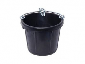 Puts, rubber, gerecycled, 7 liter